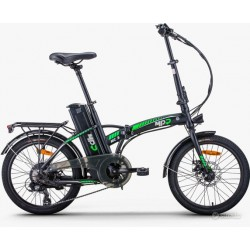 NEW MPR MC III BLACK AND GREEN E-BIKE