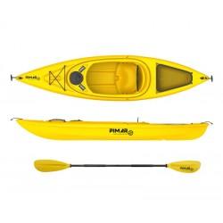 Kayak canoa pimar 10004 yellow  da 305 cm + 1 gavone + 1 pagaia + 1 seggiolino sport