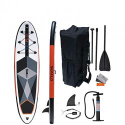 SUP Tavola da surf - Doppio strato Gonfiabile 305x75x15  + Pagaia + Borsone + Laccio di sicurezza + Kit riparazione