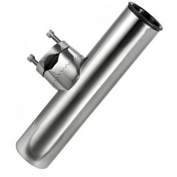 Portacanne orientabile inox 316 con morsetto 25/32 mm