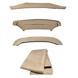 Telo di ricambio per tendalino 4 archi varie misure BEIGE