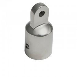 Cappuccio terminale in acciaio inox 316 Ø 25 mm per tendalino