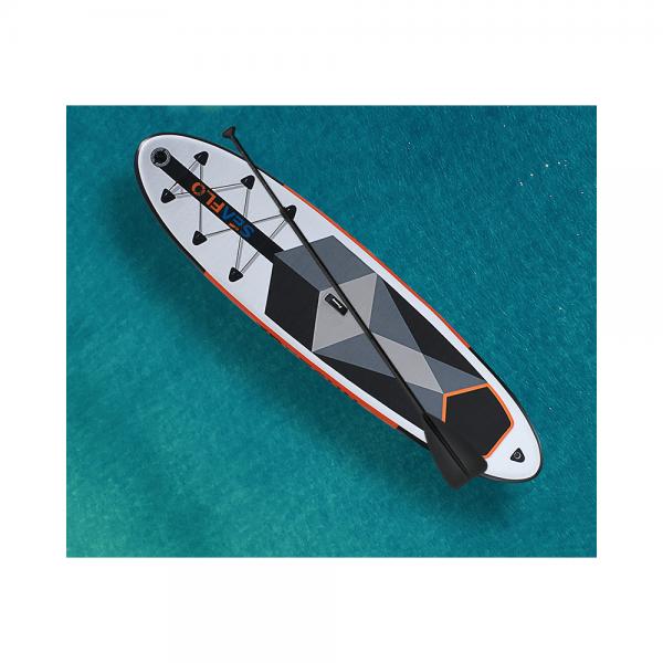 SUP Tavola da surf - Doppio strato Gonfiabile + pagaia 305x75x15