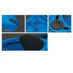 Kayak canoa pimar 10004 blue da 305 cm + 1 gavone + 1 pagaia + 1 seggiolino sport