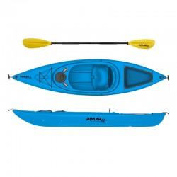 Kayak canoa pimar 1004 blue da 305 cm + 1 gavone + 1 pagaia + 1 seggiolino sport