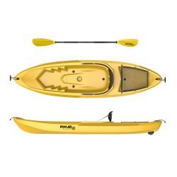 Kayak canoa pimar 1010 yellow da 266 cm + 1 gavone + 1 pagaia + 1 seggiolino sport