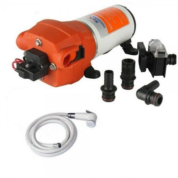 Kit autoclave 17 lt/min con tubo e doccetta