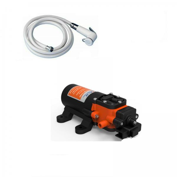 Kit autoclave 4 lt/ min con doccetta e tubo da 2.5 mt / 4 mt
