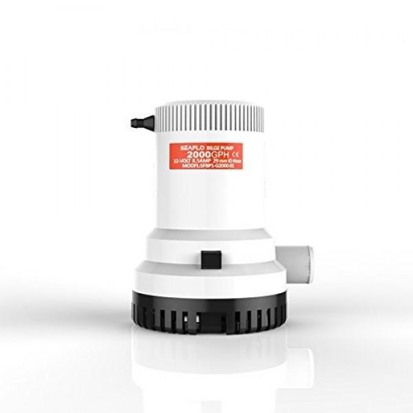 Pompa di sentina ad immersione 2000 gph 12v