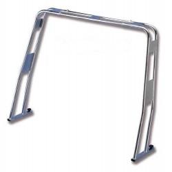 Roll bar in acciaio inox 316 abbattibile modello diritto