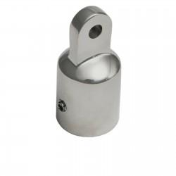 Cappuccio terminale in acciaio inox 316 Ø 22 mm per tendalino